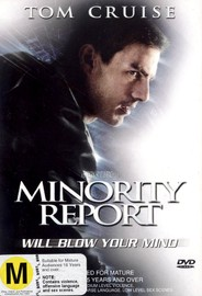 Minority Report (Single Disc) on DVD