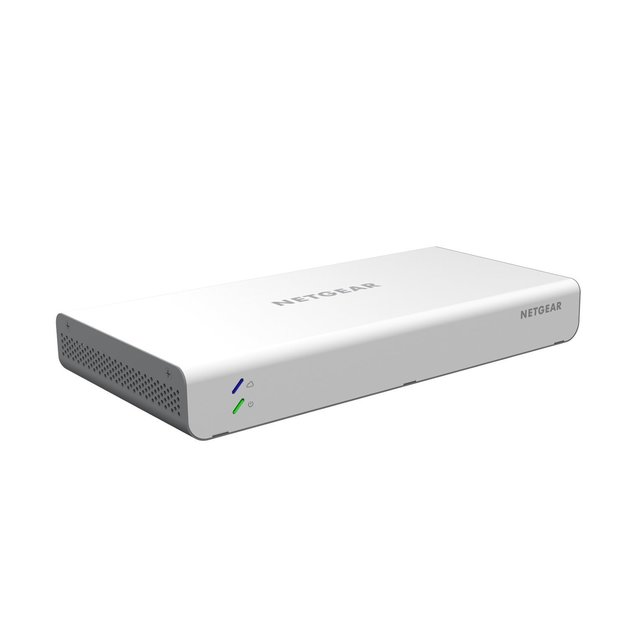 NETGEAR® Insight Managed 8-Port Gigabit Ethernet PoE Smart Cloud Switch with 2 SFP Fiber Ports (GC110P)