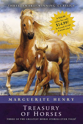 Marguerite Henry Treasury of Horses (Boxed Set) by Marguerite Henry