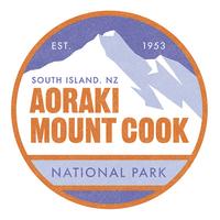 100 Percent NZ - National Parks Ceramic Coaster - Mount Cook