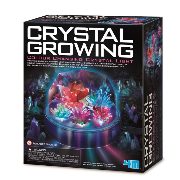 4M Science: Crystal Growing - Colour Changing Crystal Light