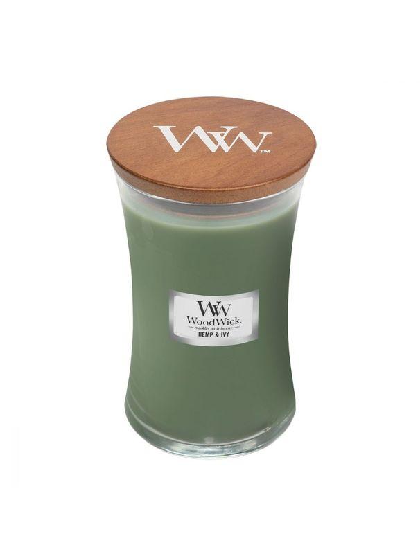 Woodwick: Hemp & Ivy (Large)