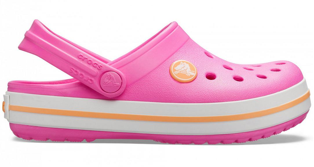 Crocband Clog Kids - Pink (Size US C-9