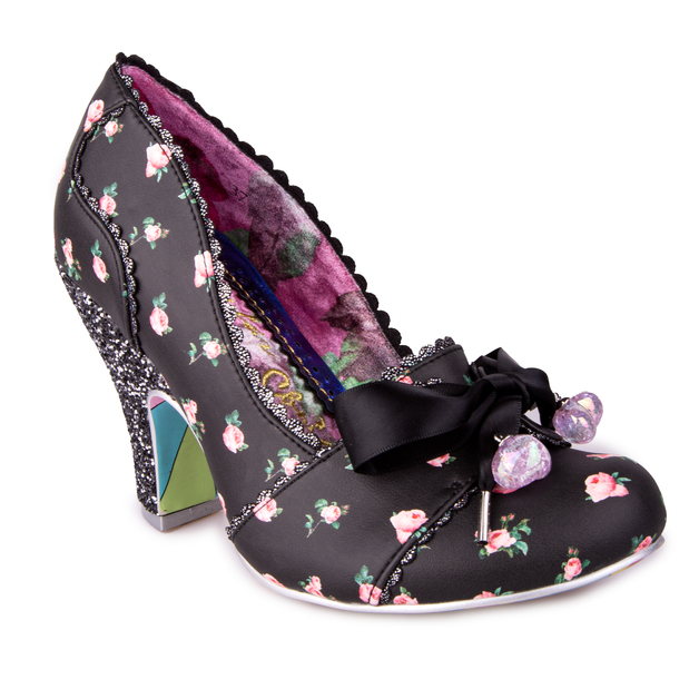 Irregular Choice: Tied In A Bow - Black (Size 39)