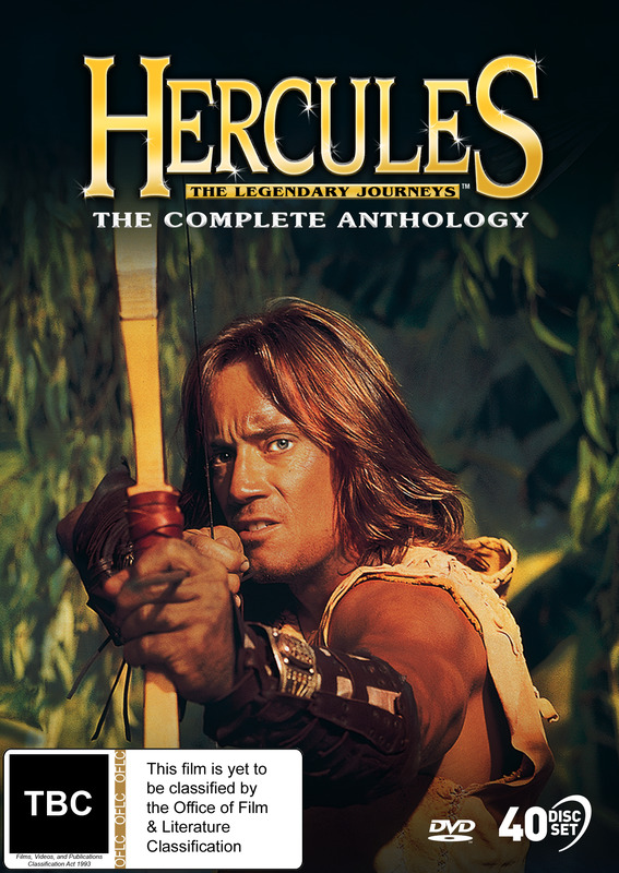 Hercules: The Complete Anthology on DVD