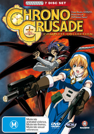 Chrono Crusade - Complete Collection (7 Disc Fatpack) on DVD image