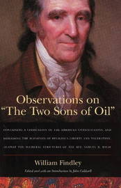 Observations on 'The Two Sons of Oil' by William Findley image