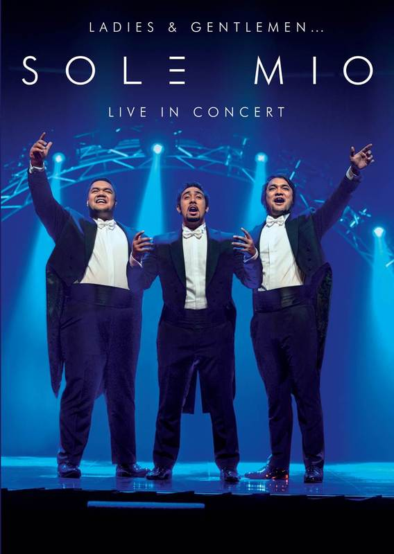 Sol3 Mio Live in Concert on Blu-ray