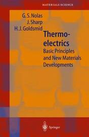 Thermoelectrics by George S. Nolas