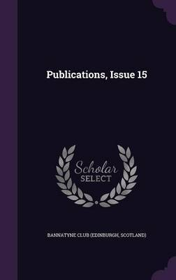 Publications, Issue 15