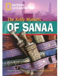 The Knife Markets of Sanna by Rob Waring image