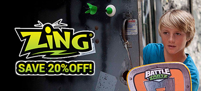 20% off Zing Toys