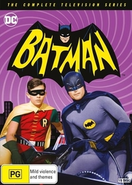 Batman - The Complete TV Series on DVD