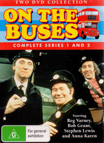 On The Buses - Series 1 And 2 (2 Disc Set) on DVD