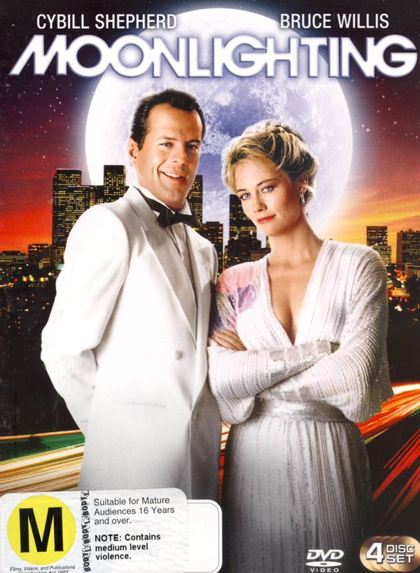 Moonlighting - Complete Season 3 (4 Disc Set) on DVD image