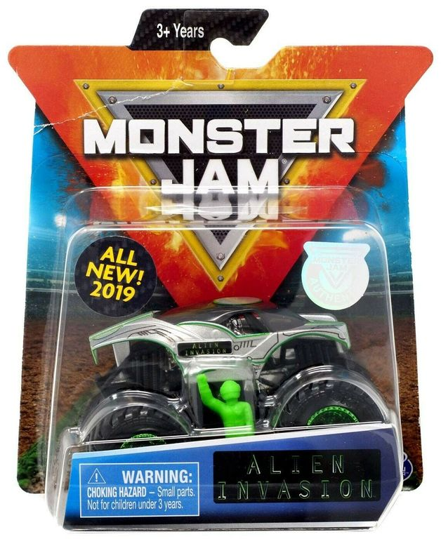 Monster Jam: 1:64 Scale Diecast Truck - Alien Invasion