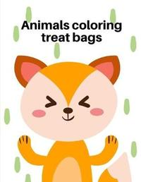 Animals Coloring Treat Bags by Harry Blackice