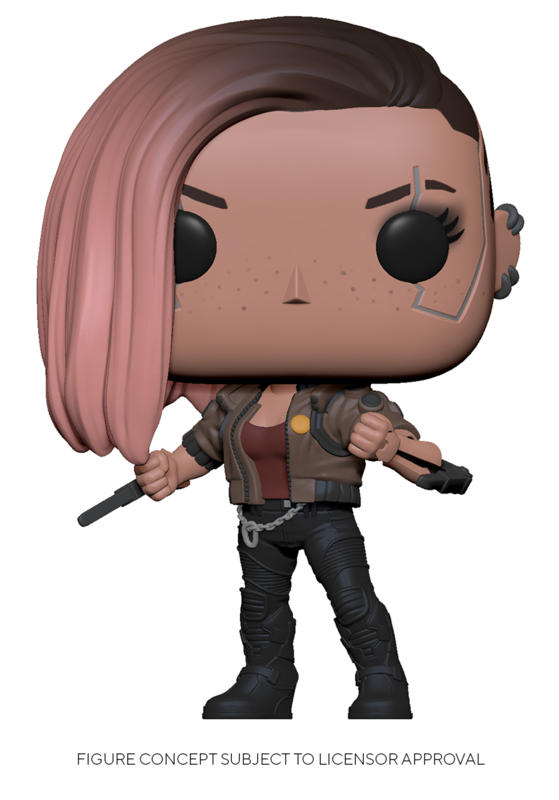 Cyberpunk 2077: V-Female - Pop! Vinyl Figure