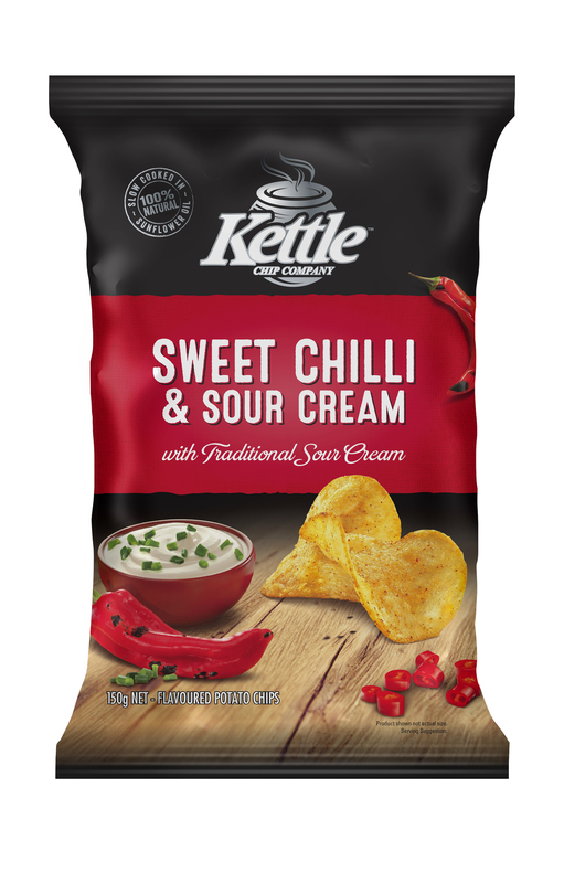 Kettle Chip Company Kettle Sweet Chilli & Sour Cream (12 x 150g)