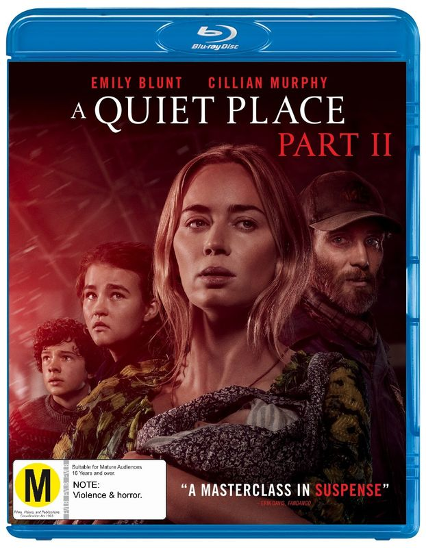 A Quiet Place Part II on Blu-ray