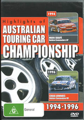Highlights Of The Australian Touring Car Championship 1994-1996 on DVD