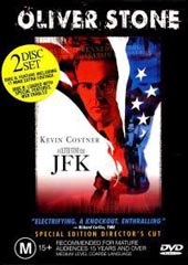 JFK Directors Cut on DVD