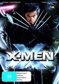 X-Men on DVD image