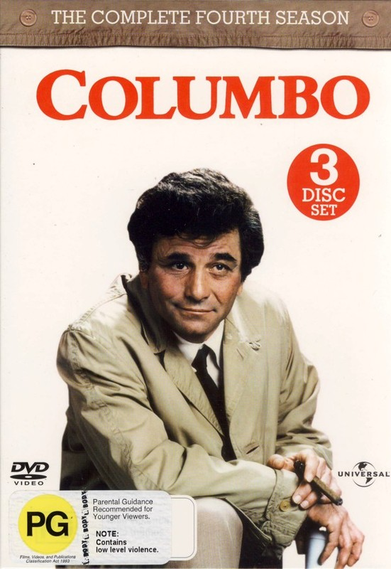 Columbo - Complete Season 4 (3 Disc Set) on DVD