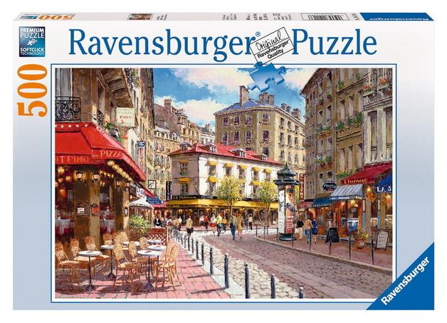 Ravensburger 500 Piece Jigsaw Puzzle - Quaint Shops