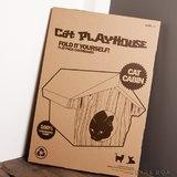 Suck UK - Cat Playhouse (Kitty Cabin)