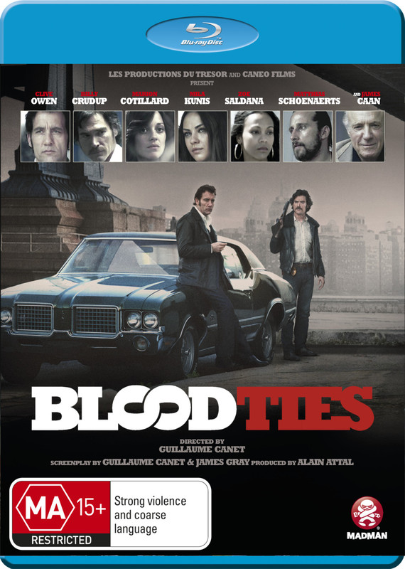 Blood Ties | Blu-ray | Buy Now | at Mighty Ape NZ