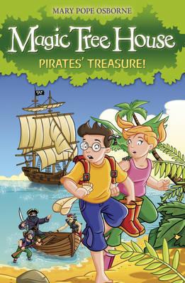 Magic Tree House 04: Pirates' Treasure! by Mary Pope Osborne image