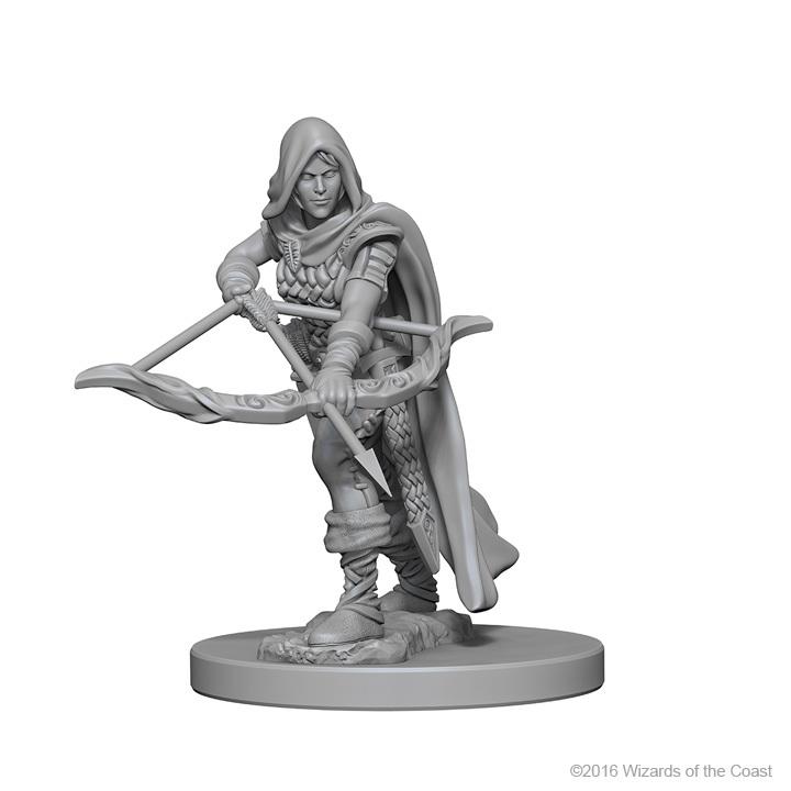 D&D Nolzur's Marvelous: Unpainted Minis - Human Female Ranger image