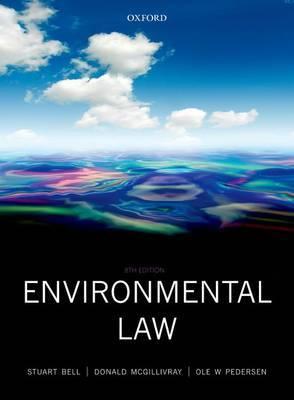 Environmental Law by Stuart Bell
