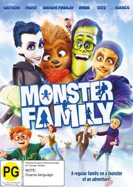 Monster Family on DVD