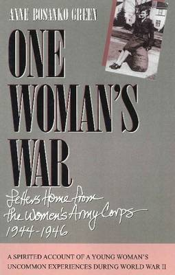 One Woman's War by Anne Bosanko Green image