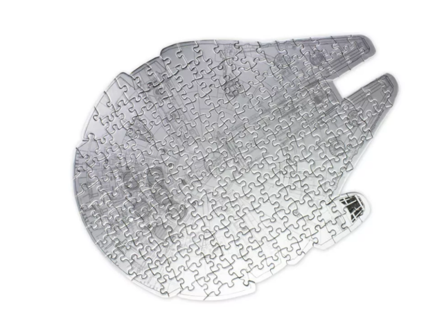 Millennium Falcon Jigsaw + Storage Tin