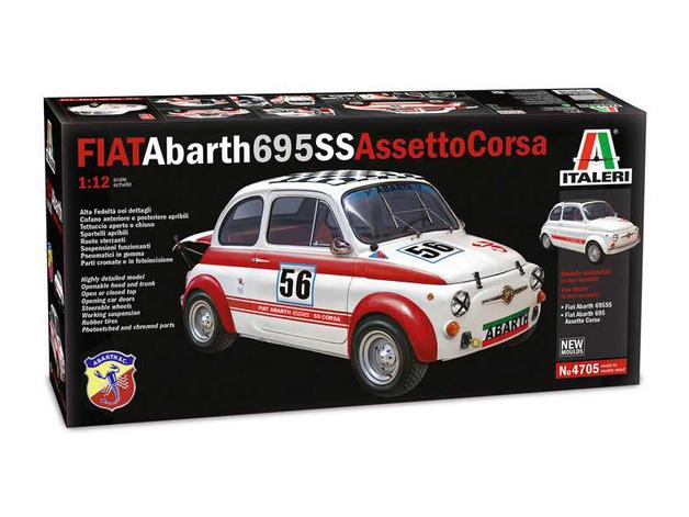 Italeri: 1/12 FIAT Abarth 695SS/Assetto Corsa - Model Kit