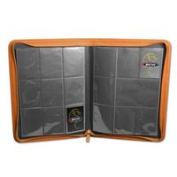 BCW: Zipper Folio 9-Pocket LX - Orange
