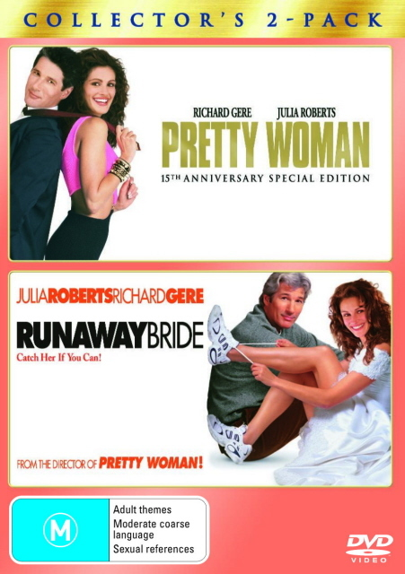 Pretty Woman / Runaway Bride - Collector's 2-Pack (2 Disc Set) on DVD