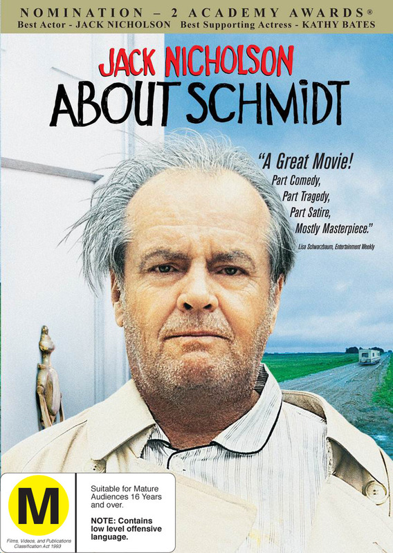 About Schmidt on DVD