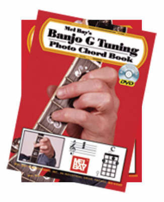 Banjo G Tuning Photo Chord Book with DVD