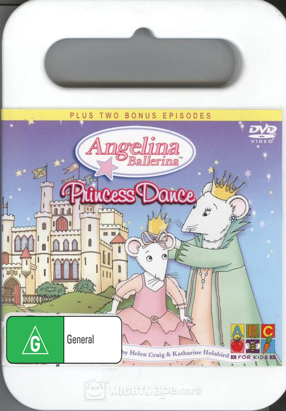 Angelina Ballerina: Princess Dance on DVD