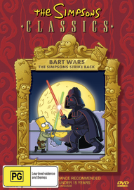 The Simpsons Classics - Bart Wars on DVD image