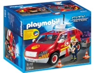 Playmobil - Fire Chief´s Car with Lights and Sound (5364)