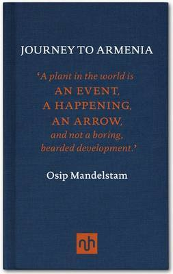 Journey to Armenia by Osip Mandelstam