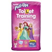 Huggies Pull-Ups Training Pants - Size 4 Girl 16+ kg (12) image