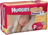 Huggies: Little Snugglers Premature Nappies 30s (Up To 3kg)