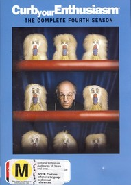 Curb Your Enthusiasm - Complete Season 4 (2 Disc Set) on DVD image