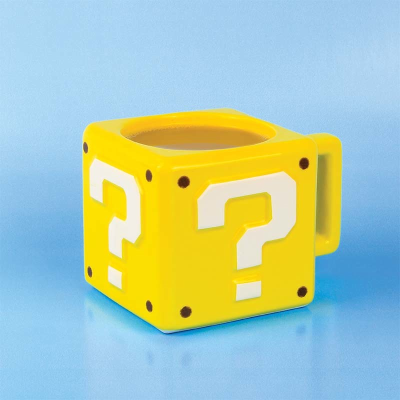 Question Block Mug image